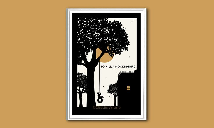 To Kill A Mocking Bird New Version Poster In Various Sizes