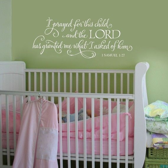 Each child is a blessing ... I would love this to be above the kids' bedroom.