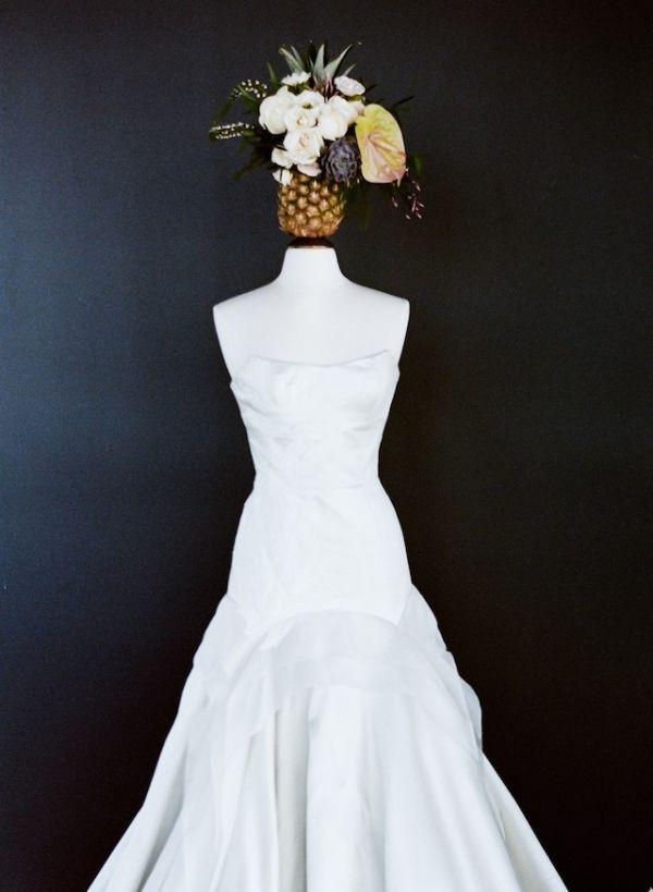 Tara LaTour Wedding Dress   Carrie King Photography on @burnettsboards via @aislesociety