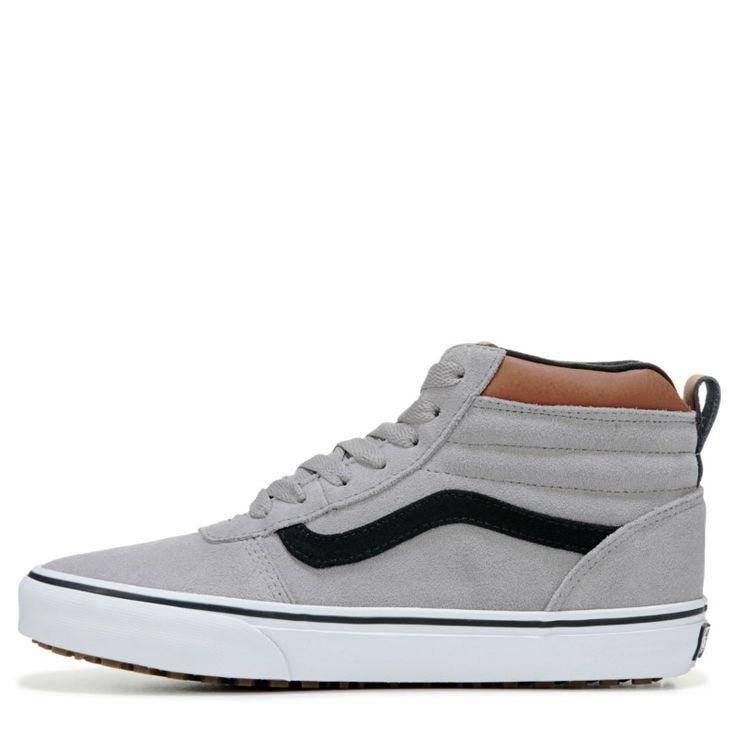 Vans Men's Ward Mte High Top Skate Shoes (Grey/Black/Brown)