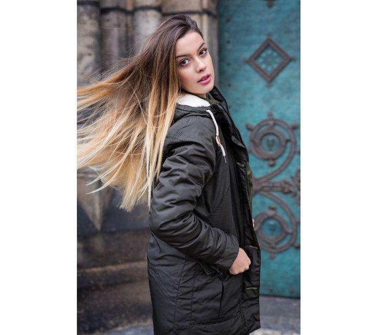 Dámsky jesenný kabát Sam 73 | modino.sk #modino_sk #modino_style #style #fashion #lookbook