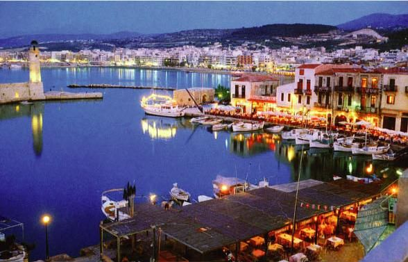 Rethymnon harbour -Crete