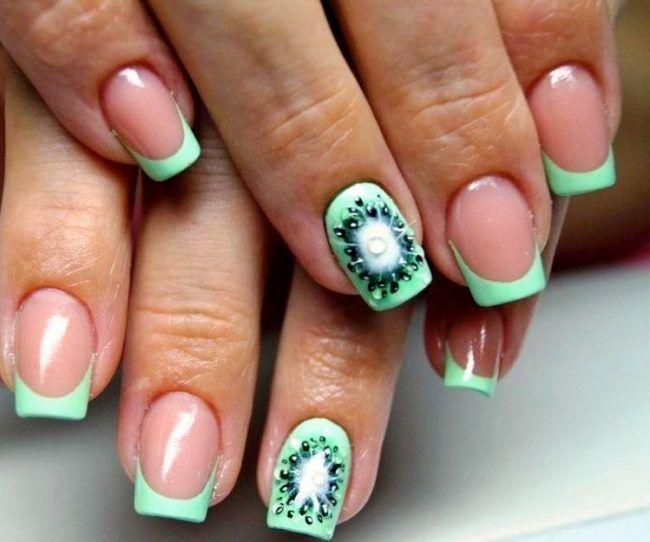 17 Best Ideas About Rhinestone Nail Designs On Pinterest