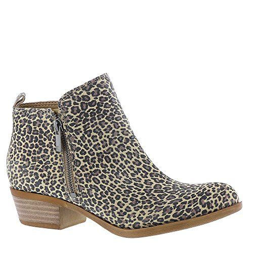 Lucky Brand Women's Basel Bootie,Sesame Printed Suede,US 8 M $128.95