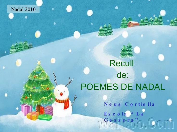 poemes-de-nadal-6145181 by La Gessera- Caseres via Slideshare