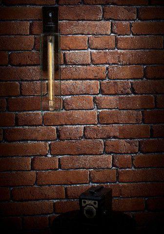 Alchemist Long Filament Wall Light | thelightyard.com | Vintage Industrial Lighting | Warehouse Home Design Magazine