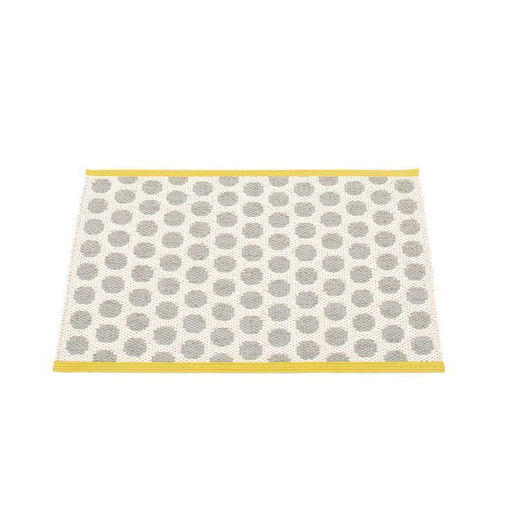 Noa Doormat 70x50 cm, Warm Grey/Vanilla, Pappelina