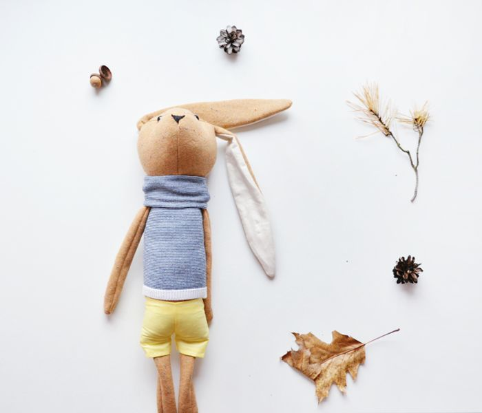 +Królik+Stanisław+w+Lady+Stump+-+oryginalne+zabawki+handmade+na+DaWanda.com