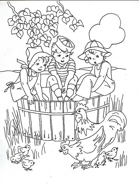 Coloring book kids | Flickr - Photo Sharing!