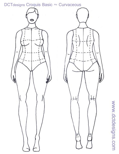 Are absolutely Plus size fashion croquis templates useful topic