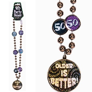 50th Birthday Party Beads