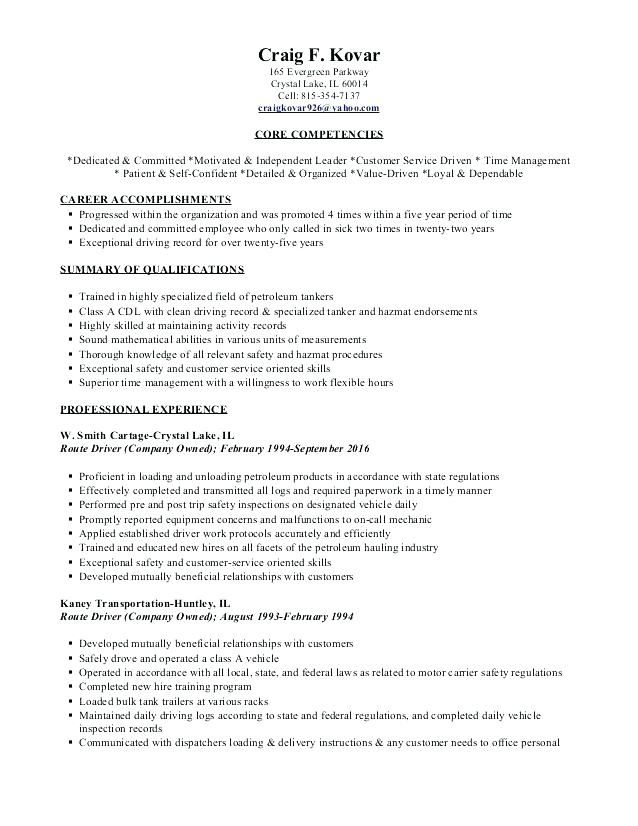 Owner Operator Resume Owner Operator Resume Resume Samples