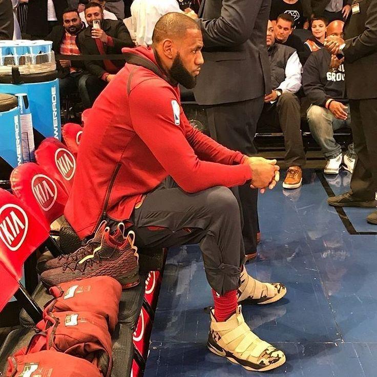 regram @updateking Ready. #NBA #Cavs #LeBron #Nike http://ift.tt/2zBI4ps