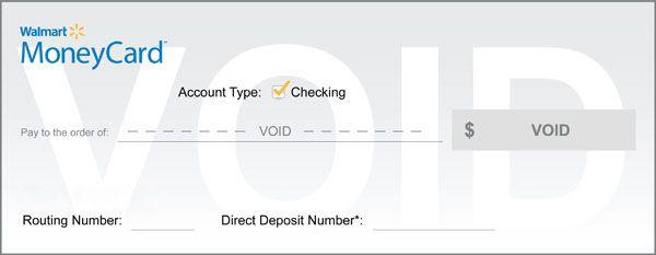Direct Deposit Form Walmart Visa Card Prepaid Card