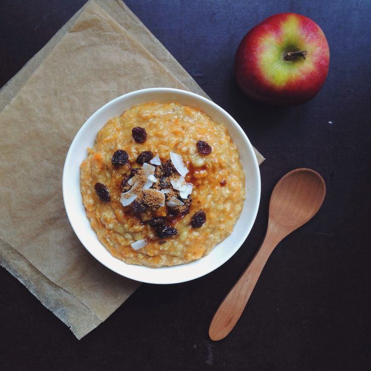 Carrot Cake Oatmeal This is one of my favourite oatmeals. It tastes just like this insanely delicious vegan carrot cake which I would love to share with you as soon as possible! And I love to have...