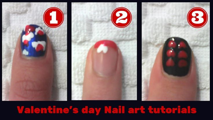Valentine's day nail art 2016 - 3 designs l Mirtoulini 29