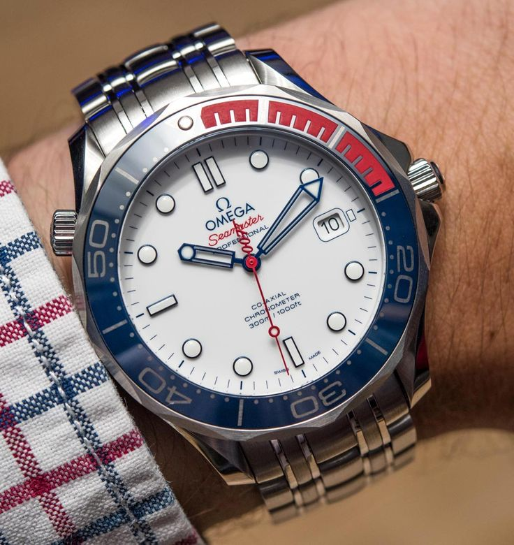 Omega Seamaster Diver 300M 'Commander's Watch' Limited Edition Inspired By James Bond 007