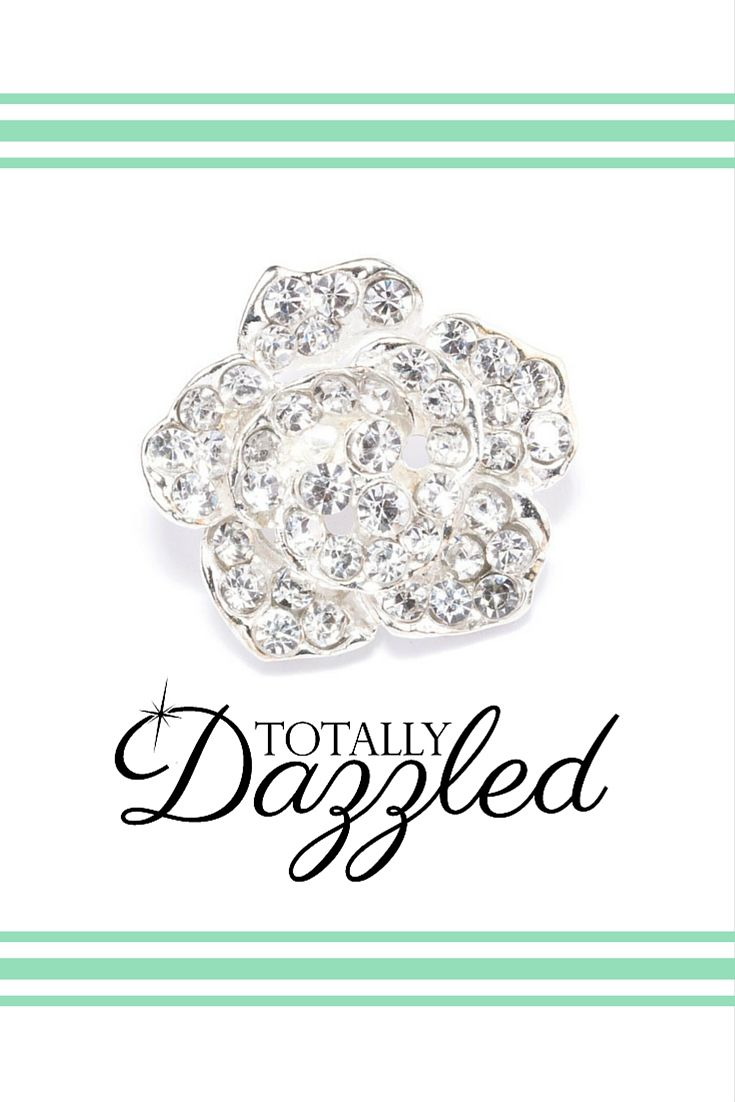 ROSE CRYSTAL BUTTONS! Find that extra special sparkle at totallydazzled.com! This beautiful button is only $0.97! We ship within one business day and your satisfaction is guaranteed!