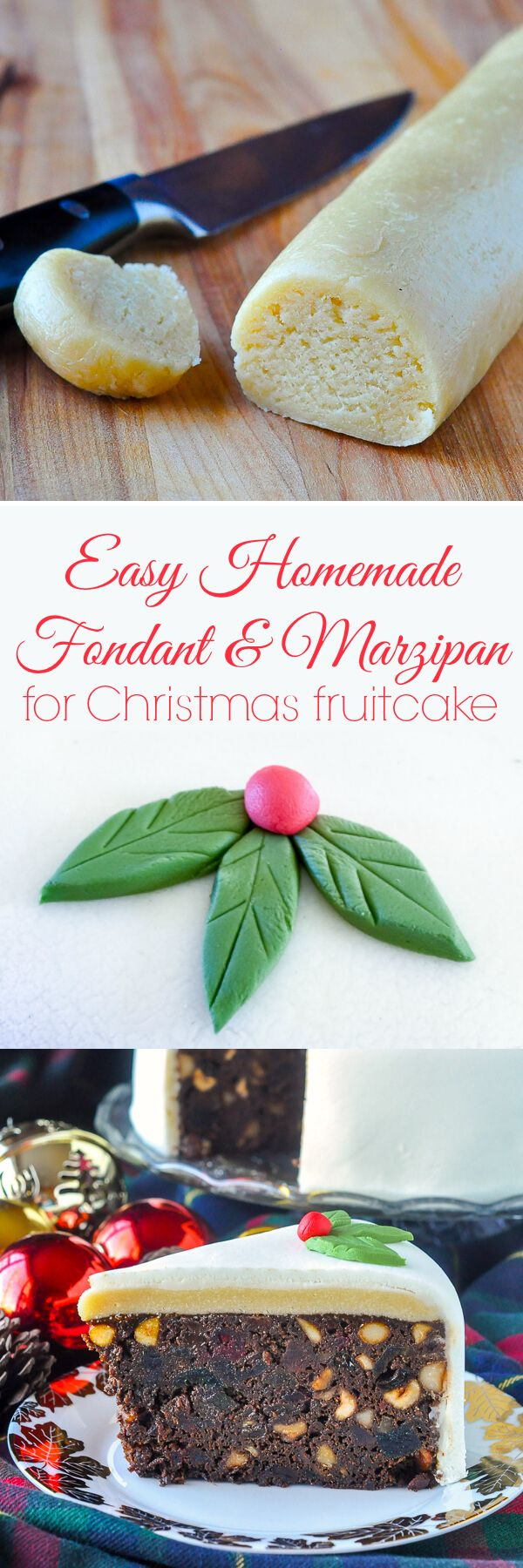 Easy Marshmallow Fondant & Homemade Marzipan - homemade fondant & marzipan cost far less, are not difficult to prepare and taste better than store bought too!