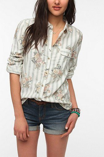 lovve this Printed Oxford Button-Down Shirt