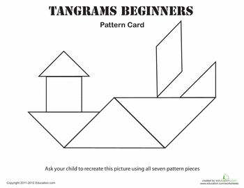 everyday math pattern block template - help your child 39 s imagination grow with these tangram