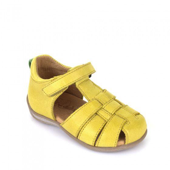 FRODDO Lauflerner Sandalen – gelb