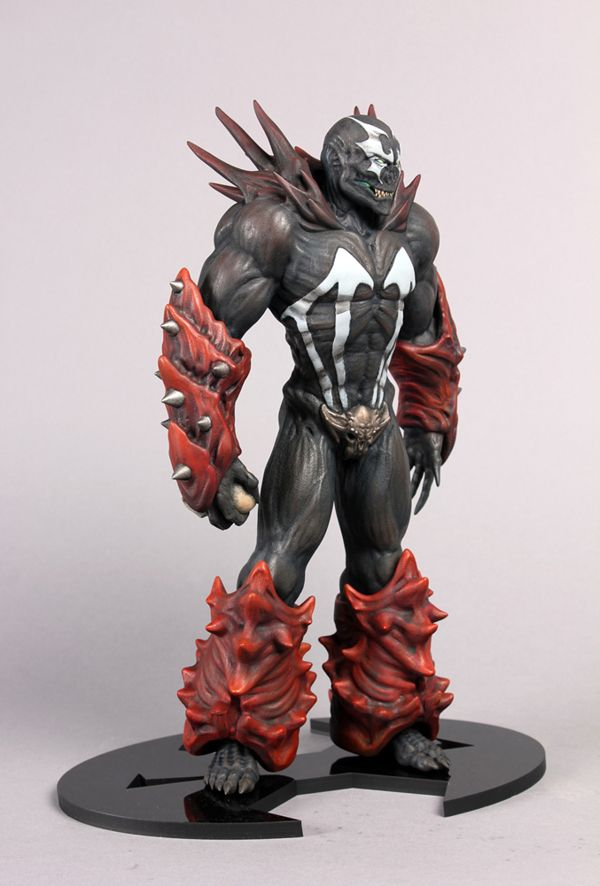 Spawn figure by Katie Hyatt, via Behance