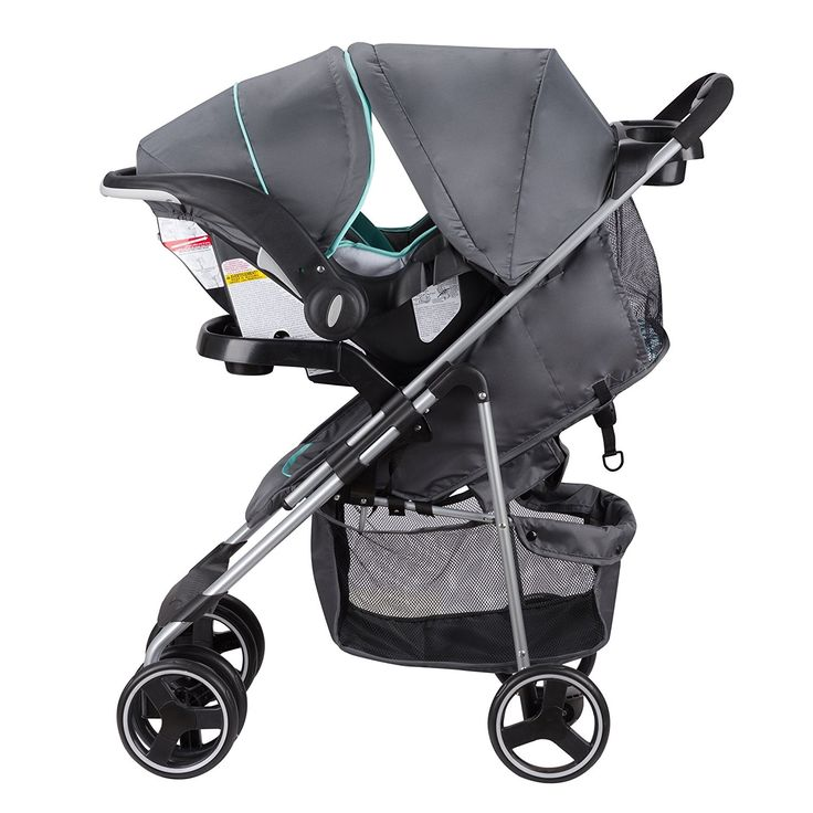 Amazon.com : Evenflo Vive Travel System with Embrace, Spearmint Spree : Baby