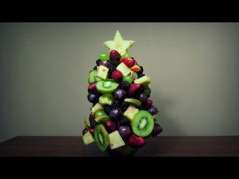Owocowa choinka - YouTube