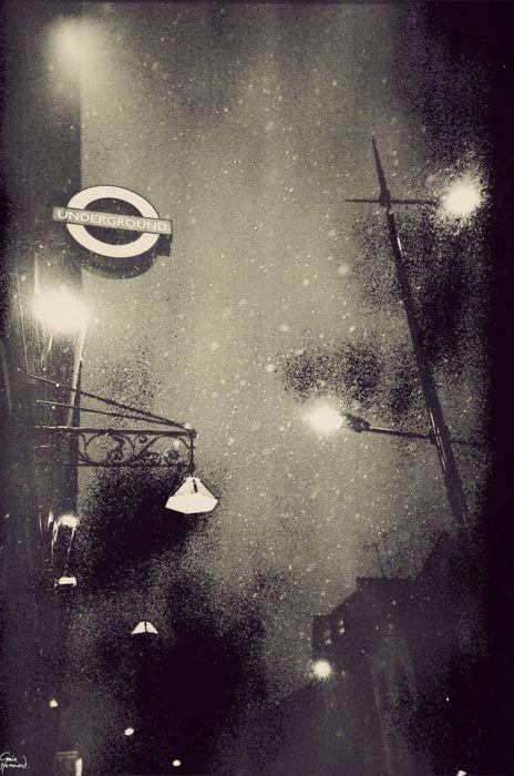 Moody London Lomography by Gavin Hammond
