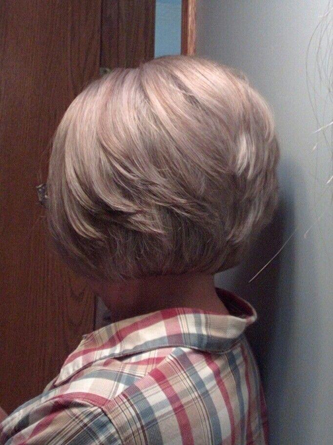 Purplish gray highlights by Laci