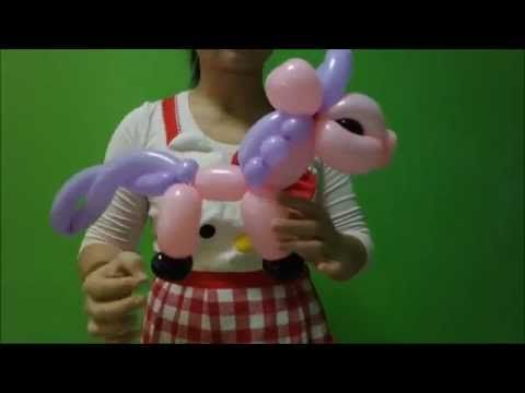Balloon unicorn Bong Bóng chú ngựa 扭气球 ANIMAL - YouTube