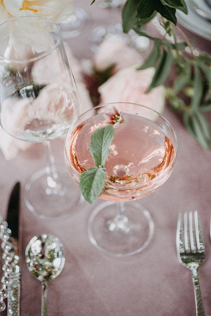 Rosé Cocktail for a French Spring Garden Party