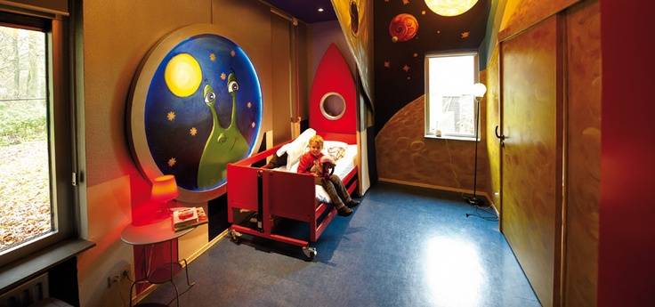 Villa Pardoes, Kaatsheuvel, Netherlands. Provides holidays for seriously ill children & their families.  Lighting by Philips  http://www.lighting.philips.com/main/projects/villa_pardoes.wpd#