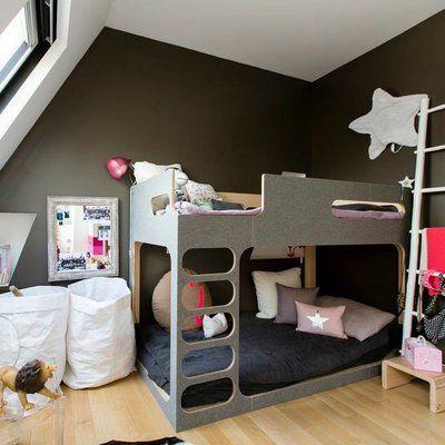 les 25 meilleures id es de la cat gorie lits superpos s trois couchages sur pinterest. Black Bedroom Furniture Sets. Home Design Ideas