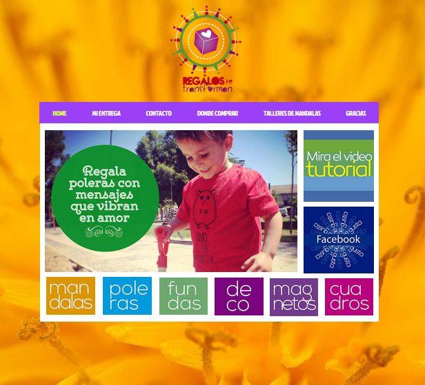 Visita mi pagina web: www.regalosquetransforman.cl