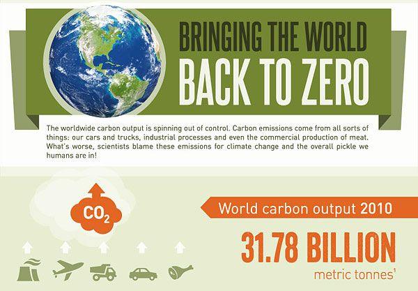 Carbon Offset Infographics