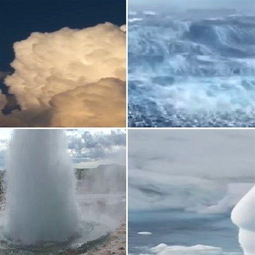 L'acqua è presente in tutto il pianeta terra, ne ricopre per oltre il 70% la superficie totale, formando nei tre differenti stati della materia