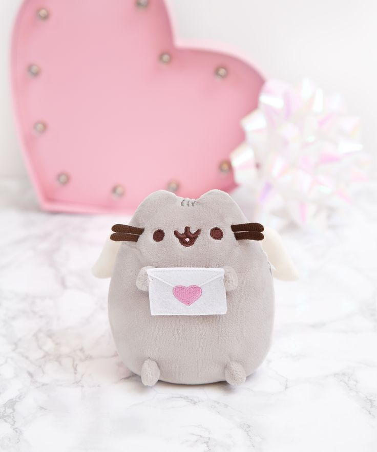 Cupid Pusheen mini plush
