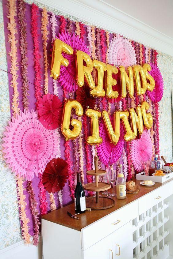 Let's Celebrate // Friendsgiving idea.