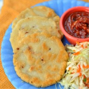 Papusas....I can't wait to make these for my family! El Salvadorian food