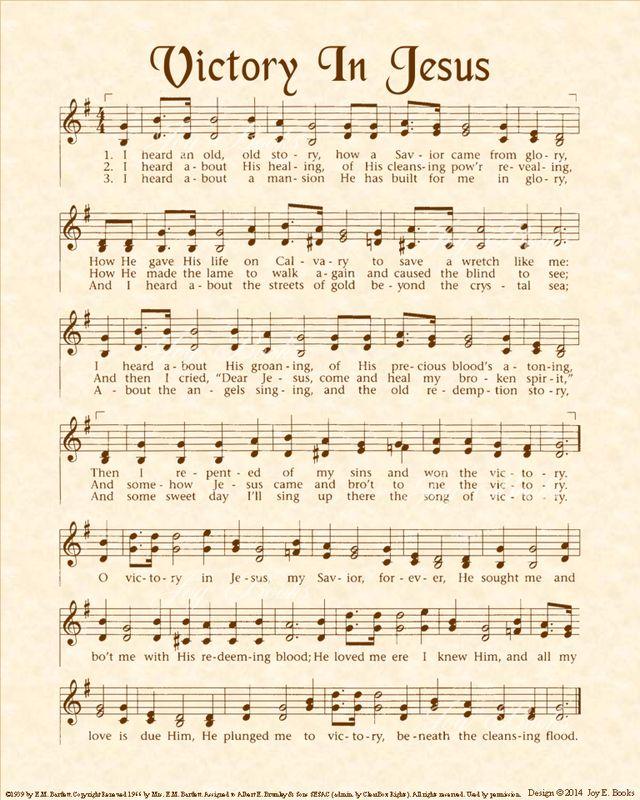 Christian Heritage Hymn, Sheet Music