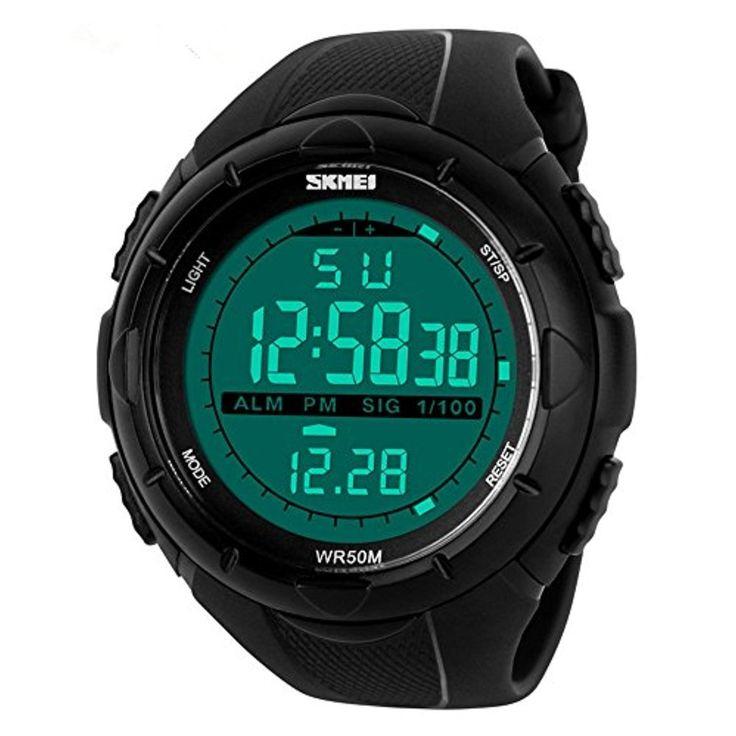 ALPS Multifonctionnel G Shock Montre Digitale Etanche Sport Homme Noir 2017 #2017, #Montresbracelet http://montre-luxe-homme.fr/alps-multifonctionnel-g-shock-montre-digitale-etanche-sport-homme-noir-2017/