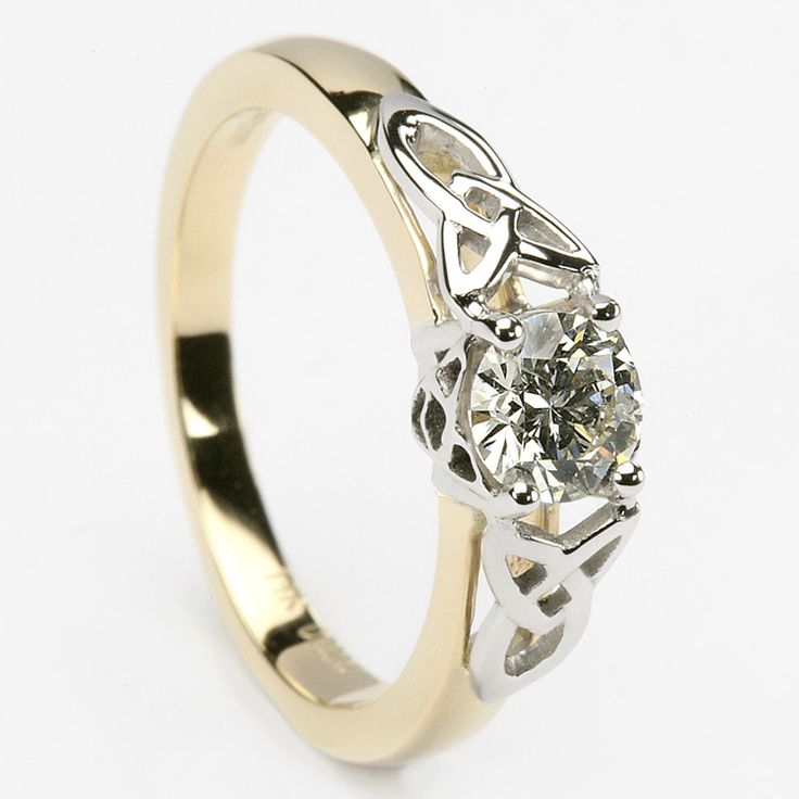 25+ best ideas about Trinity ring on Pinterest | Dainty ring ...