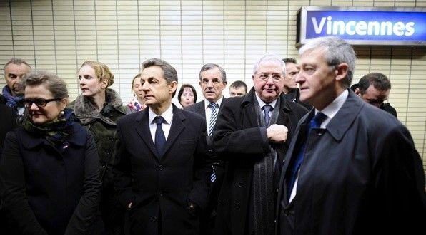 Un regard à gauche….pour Nicolas Sarkozy …