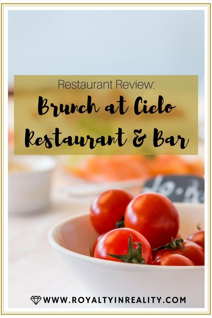 brunch at cielo restaurant & bar