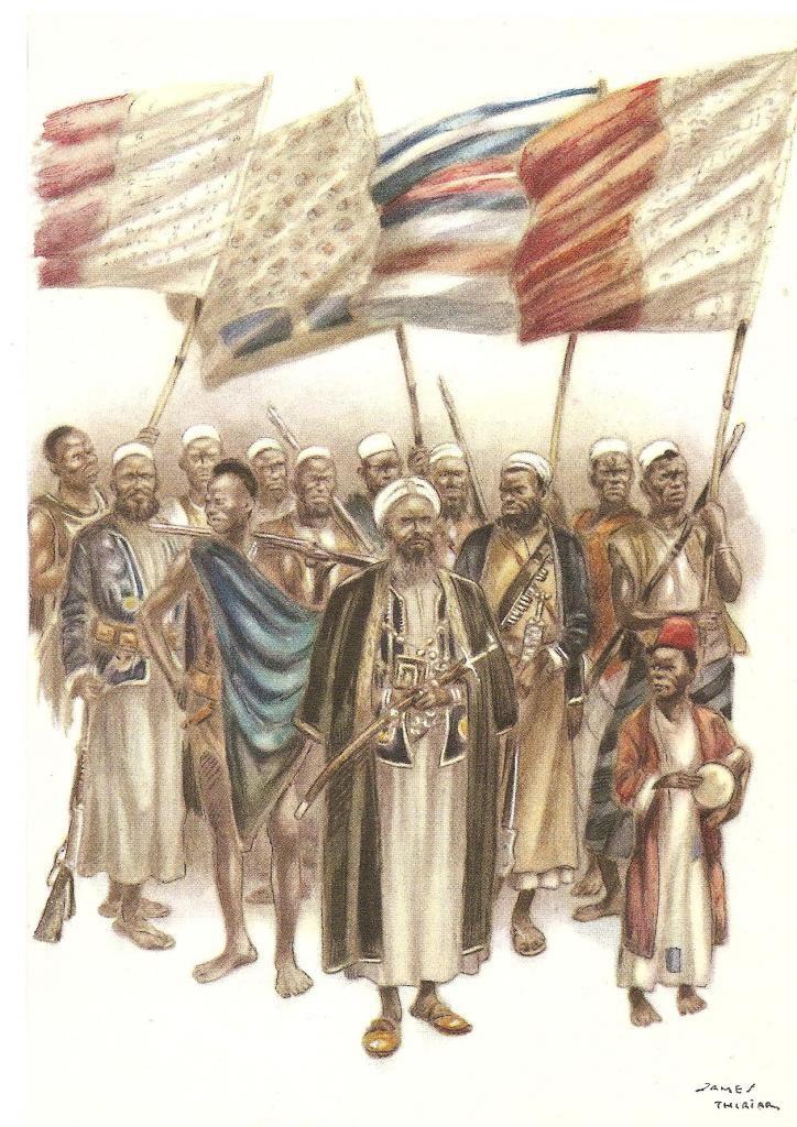 Arabisés Types et drapeaux