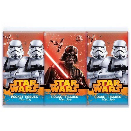 Star Wars Classic Pocket Facial Tissue 3 Pack