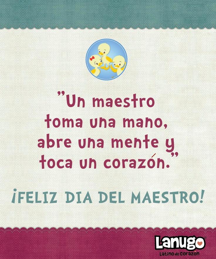 Happy Teacher Appreciation Day!!! MIL GRACIAS PROFESORES!