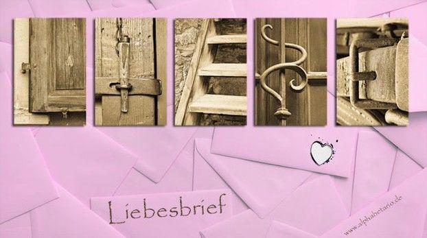 Liebe im Briefumschlag von alphabetario